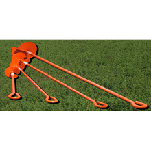 Power Coated Ground Anchor