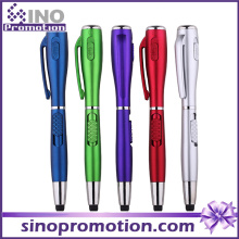 Plastic LED Light Pen with Torch Promotional Gift Pen (S1120)