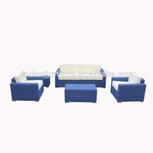 Роскошные патио мебель современная ротанга комплект софы wicker