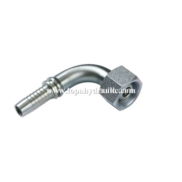 Hydraulic stainless steel hose connectors air fittings