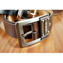 New Arrived fashion leather belt pin buckle for man garments