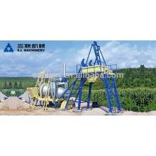 Planta de mistura de asfalto móvel QLB40 para pequenas empresas