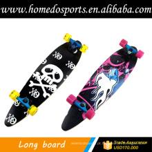quatro skate de rodas 70x51mm com griptape e OEM de transferência de calor