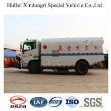 7ton Dongfeng recogida de basura Camión de succión de polvo Euro4