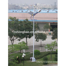 2014 High-bright LED solar street lights pole design