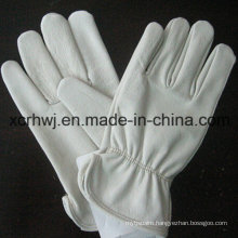 10′′cowhide Split Leather Truck Driver Gloves, Sheep Leather Driving Glove, Goat Skin Glove/Sheep Leather Glove, Goat Leather Unlined TIG Welding Gloves