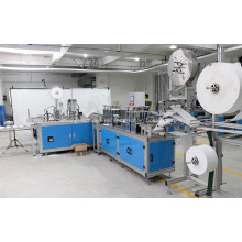 Máquina de fabricación de mascarilla médica no tejida quirúrgica automática N95 KN95