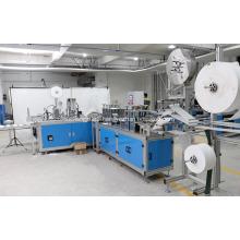 Automatic N95 KN95 Surgical Non Woven Medical Face Mask Making Machine
