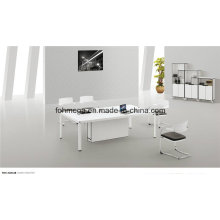 Kleiner moderner Besprechungstisch in Weiß (FOH-2412B)