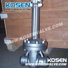 Válvulas de porta criogênicas do aço de molde do API 600