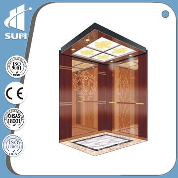 Hydraulic Speed 0.4m/S Luxury Decoration Home Elevator