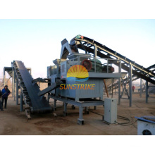 Venda quente Fluorita em pó máquina de briquetagem na Índia