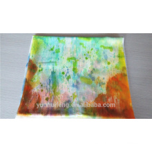 Bufanda de la cachemira de la pintura de la mano suave del último diseño para la venta