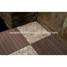 Eurostark- WPC pavimento de baldosas para la producción de suelos de plástico de madera
