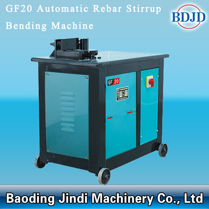 Automatic Rebar Stirrup Bending Machine001