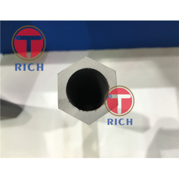 Hollow hexagonal carbon steel pipe