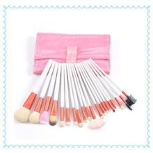 Профессиональный розовый и белый чехол для кистей для макияжа оптом