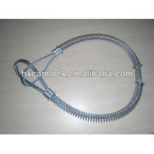 хорошее качество углерода стальной кабель безопасности Whipcheck