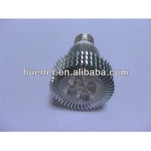 Prix d'usine 220v haute puissance spot light E27E26B22 2700k-7500k 5w conduit projecteur