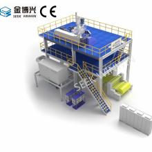 Máquina de fabricação de spunbond PP para tecido não tecido