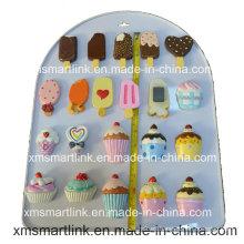 Chocolate del recuerdo y helado Artesanía del refrigerador