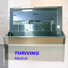 Stainless Steel High Quality Scrub Sink (THR-SS030)