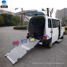 Accessoire auto, rampe pliante de véhicule pour fauteuil roulant