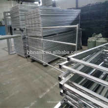 Galvanized Flat Panel Fence Gates / Sheep Goat Portable Metal Fence Panels