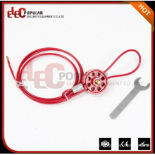 Elecpopular High Demand Products Reusable Safety Wheel Type Cable Lockouts