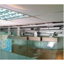 Office Building Commercial Telescopic Sliding Door