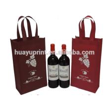 Sacos não tecidos de vinho tinto, sacos de vinho, sacos não tecidos