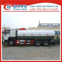 SINOTRUK HOWO 6X4 20000L manuelles Getriebe Trinkwasser LKW Lieferant