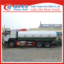 SINOTRUK HOWO 6X4 20000L manual gearbox drinking water truck supplier