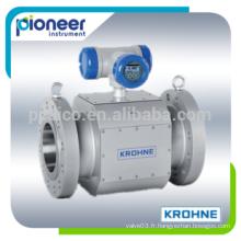 Débitmètre à gaz ultrasonique Krohne ALTOSONIC V12 pour le transfert de la garde