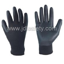 Nylon Glove of Unbreathable Foam Nitrile Coating (N1559)
