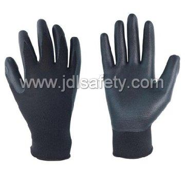 Nylon Glove of Unbreathable Foam Nitrile Coating (N1559)