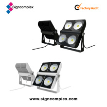 Bridgelux COB 300W IP65 Modular LED Flood Light Wight CE RoHS UL Dlc