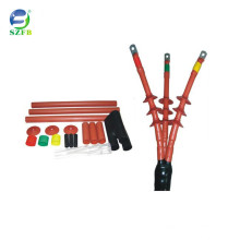 SUZHOU FEIBO electricity insulation protection power cable accessories 26/35KV 3 cores outdoor heat shrink terminal