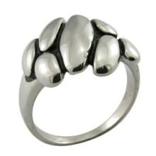 Porte-clés ou anneau anneau en acier inoxydable anneau de mode