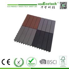 Wood Flooring für Haus- und Geschäftsgebäude WPC Wood Embossing Tile