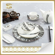 unique new bone China tableware dinnerware set for wedding