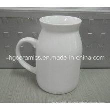 Молочная кружка, Керамический молочный кружка Молочный кувшин