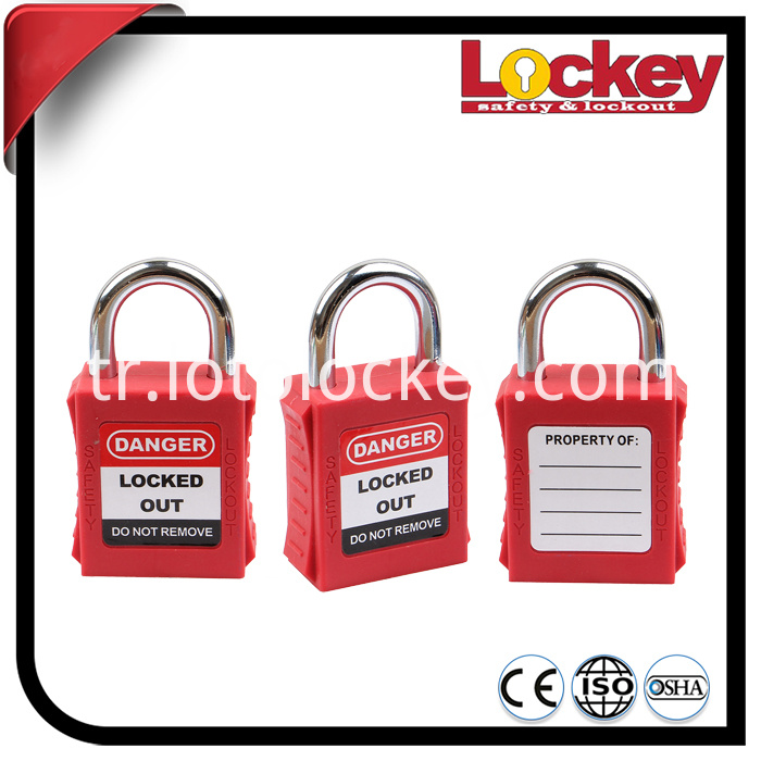 Short Shackle Safety Lockout Padlock