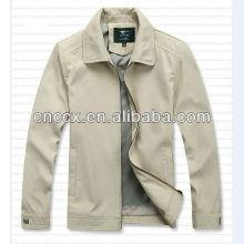 14JL1003 Moda masculina ao ar livre jaqueta leve casual