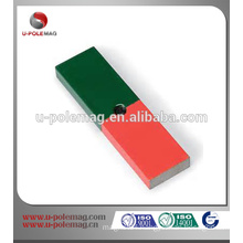Alnico block magnet for education