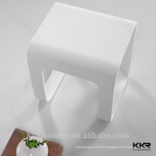 Artificial Stone Acrylic Solid Surface Bath Vanity Stools
