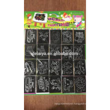 7 pcs Scratch art for kids