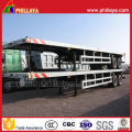 Doppelachse Container Transport Semi Tieflader