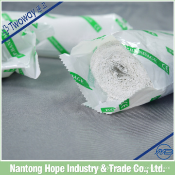 Medical disposable plaster of paris bandage with synthetic gum