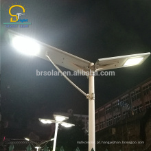 30W todo em um projeto integral Bridgelux conduziu a luz de rua solar integrada da microplaqueta